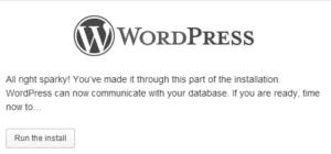 Install WordPress on Windows PC/Laptop